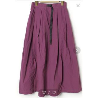 グラミチ(GRAMICCI)のニコアンド  グラミチコラボ ロングスカート (ロングスカート)