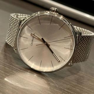 カルバンクライン(Calvin Klein)の新品 カルバンクライン K8M21126 ハイヌーン シルバー腕時計(腕時計(アナログ))