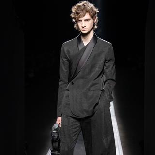 ディオール(Dior)のDior 19winter ストールジャケット セットアップ(テーラードジャケット)