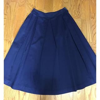 ホコモモラ(Jocomomola)の【新品未使用】 ホコモモラ スカート 紺色 サイズ40(ロングスカート)