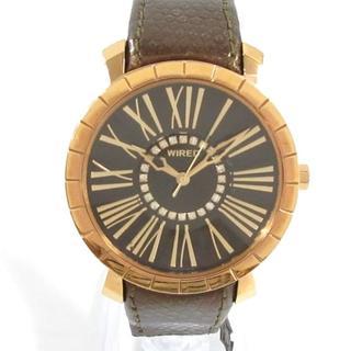 ワイアード 腕時計 7N01-0FR0 メンズ 黒(その他)