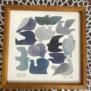 IDEE - バーズワーズ ポスター 【blue bird】20