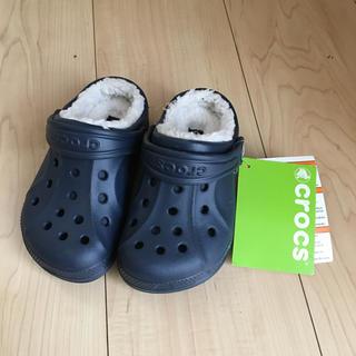 crocs - クロックス キッズ ボアサンダル