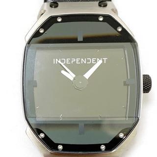 インディペンデント 腕時計美品  メンズ 黒(その他)