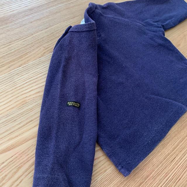MARKEY'S(マーキーズ)のマーキーズ  7分丈長袖 80 キッズ/ベビー/マタニティのベビー服(~85cm)(Tシャツ)の商品写真
