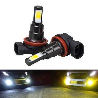 BORDAN H8 H11 H16 (国産車) LED フォグランプ イエロー (天井照明)