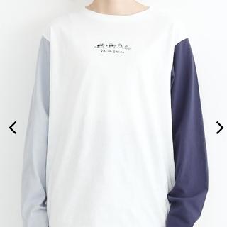 メルロー(merlot)のメルロー ロングTシャツ(Tシャツ(長袖/七分))