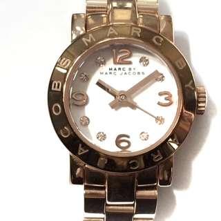 マークバイマークジェイコブス(MARC BY MARC JACOBS)のマークジェイコブス 腕時計 MBM3227 白(腕時計)