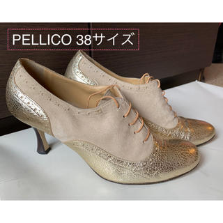 ペリーコ(PELLICO)の再値下げ!PELLICO/ペリーコレースアップシューズ 38 (ローファー/革靴)
