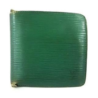 ルイヴィトン(LOUIS VUITTON)のルイヴィトン 2つ折り財布 エピ M63544(財布)