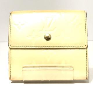 ルイヴィトン(LOUIS VUITTON)のルイヴィトン Wホック財布 M91351 ペルル(財布)