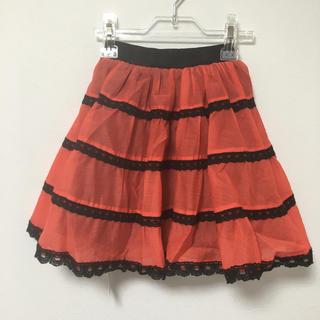 アナスイミニ(ANNA SUI mini)のMINI FEEL リバーシブルフレアスカート  120(スカート)