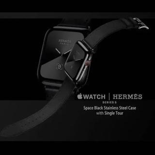 エルメス(Hermes)の超美品 Apple Watch Hermès 44mm series5(腕時計(デジタル))