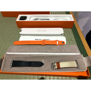 アップルウォッチ(Apple Watch)のApple Watch HERMES series4 GPS+Cellular(腕時計(デジタル))