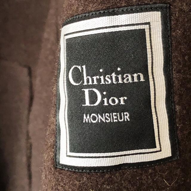Christian Dior(クリスチャンディオール)のChristian Dior '90s Alpaca Wool Overcoat メンズのジャケット/アウター(チェスターコート)の商品写真