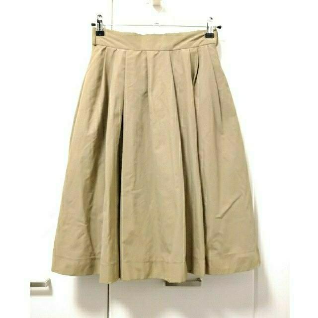dazzlin(ダズリン)の送料込★dazzlinフレアスカート★ベージュ★M★ダズリン レディースのスカート(ひざ丈スカート)の商品写真