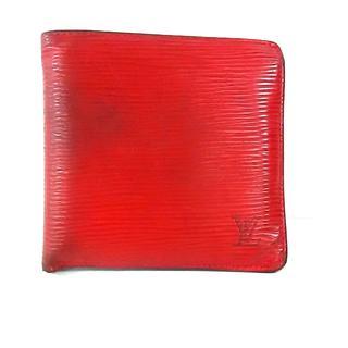 ルイヴィトン(LOUIS VUITTON)のルイヴィトン 2つ折り財布 エピ M63547(財布)