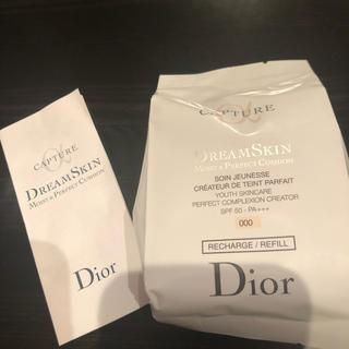 ディオール(Dior)のdiorカプチュール ドリームスキン モイスト クッション(化粧下地)