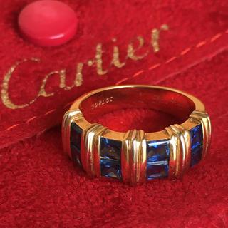 Cartier - Cartier カルティエ エルミオン サファイヤリング
