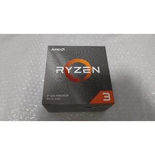 美品 AMD CPU Ryzen 3 3300X AM4 リテールクーラー付き(PCパーツ)
