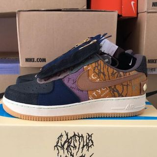 26.5cm NIKE×TRAVIS SCOTT AIR FORCE 1 LOW(スニーカー)