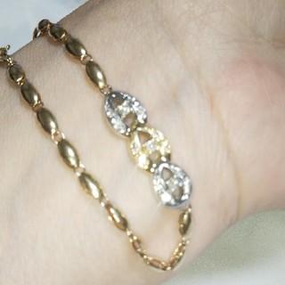 ジュエリーマキ(ジュエリーマキ)のK18Ptダイヤブレスレット(ブレスレット/バングル)