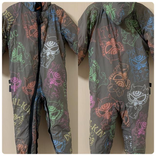 HYSTERIC MINI(ヒステリックミニ)の✩ヒステリックミニ✩ジャンプスーツ✩カバーオール✩リバーシブル✩90cm✩ キッズ/ベビー/マタニティのキッズ服男の子用(90cm~)(ジャケット/上着)の商品写真