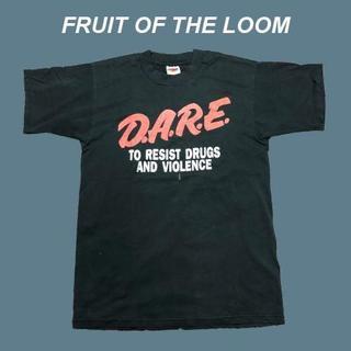 アメリヴィンテージ(Ameri VINTAGE)の【バックプリント有り】D.A.R.E☆ビンテージTシャツB003(Tシャツ/カットソー(半袖/袖なし))