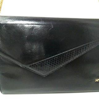 ハナエモリ(HANAE MORI)のハナエモリ ショルダーバッグ 黒(ショルダーバッグ)