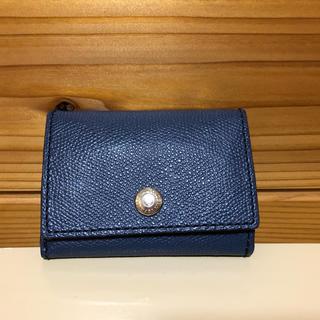 トプカピ(TOPKAPI)のTOPKAPI 三つ折り財布 ネイビー(財布)