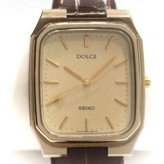 セイコー(SEIKO)のセイコー 腕時計 DOLCE(ドルチェ) ベージュ(腕時計)