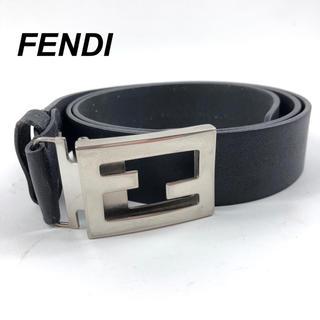 フェンディ(FENDI)のFENDI フェンディ ズッカ ベルト 黒 ブラック(ベルト)