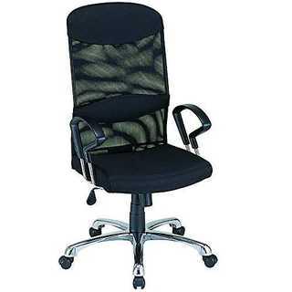 ナカバヤシ ネットチェア ハイバック オフィスチェア 椅子 ブラック RZS-1(オフィスチェア)