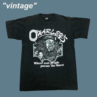 アメリヴィンテージ(Ameri VINTAGE)の【vintage】CHARLEY'S☆1990sグッドデザインTシャツB0101(Tシャツ/カットソー(半袖/袖なし))