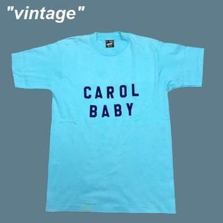 アメリヴィンテージ(Ameri VINTAGE)の【vintage】CAROL BABY☆USA製フロッキーTシャツB0120(Tシャツ/カットソー(半袖/袖なし))