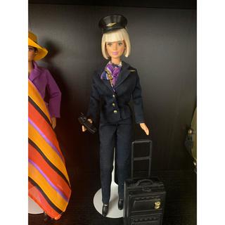 バービー(Barbie)のえーたん様専用☆バービー人形 フライトアテンダント スチュワーデス(ぬいぐるみ/人形)