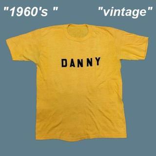 アメリヴィンテージ(Ameri VINTAGE)の【1960's 】バックプリント有り☆フロッキービンテージTシャツB0119(Tシャツ/カットソー(半袖/袖なし))