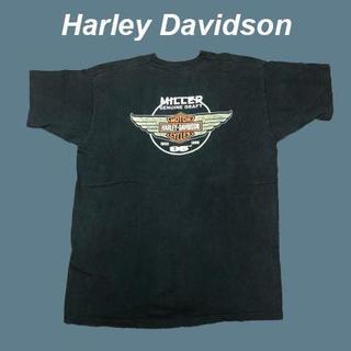 ハーレー(Hurley)の【ダメージ】ハーレーダビットソン☆millerTシャツB0170(Tシャツ/カットソー(半袖/袖なし))