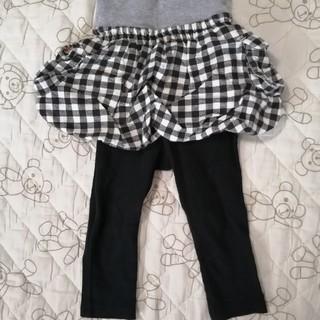 ベルメゾン(ベルメゾン)のベルメゾン スカートつきパンツ スカパン 80 秋物(パンツ)