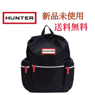 ハンター(HUNTER)の新品 HUNTER ハンター トップクリップ バックパック リュック ブラック(リュック/バックパック)
