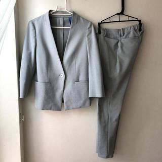 オリヒカ(ORIHICA)のORIHICA オリヒカ グレー薄手スーツ S(スーツ)
