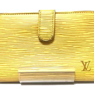 ルイヴィトン(LOUIS VUITTON)のルイヴィトン 2つ折り財布 エピ M63249(財布)