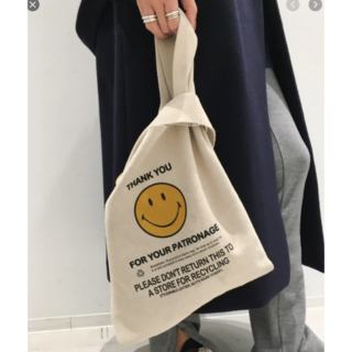 L'Appartement DEUXIEME CLASSE - 新品タグ付き☆スウェード素材GOOD GRIEF/Smile Tote Bag