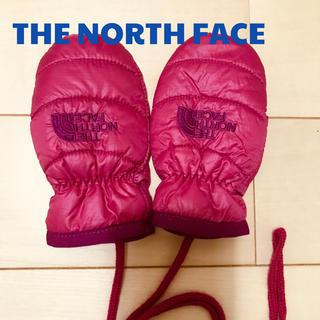 ザノースフェイス(THE NORTH FACE)の美品☆THE NORTH FACE ノースフェイス☆ベビーミトン 手袋(手袋)
