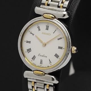 セイコー(SEIKO)のSEIKOセイコー エクセリーヌ コンビ レディース腕時計(腕時計)