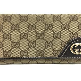 グッチ(Gucci)のGUCCI(グッチ) 長財布 GG柄/ダブルG 181595(財布)