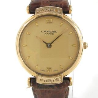 ランセル(LANCEL)のランセル 腕時計 8610 レディース ゴールド(腕時計)
