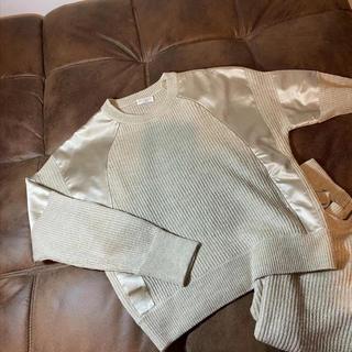 ブルネロクチネリ(BRUNELLO CUCINELLI)のブルネロクチネリ リネン/シルク セーター(ニット/セーター)