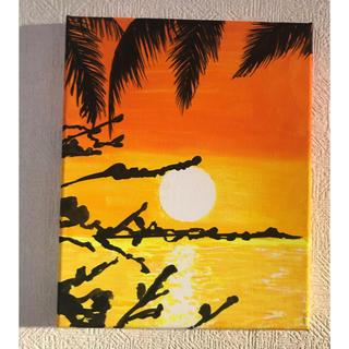 ハワイをイメージしました 2  アクリル原画