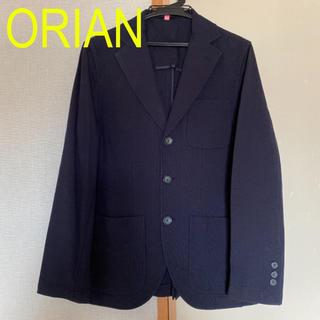 ORIAN オリアン ジャケット 44 ネイビー